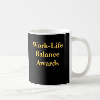 Récompenses d'équilibre de la vie de travail de mug