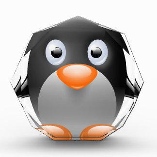 Récompenses En Acrylique beau heureux de bébé de pingouin de joie animale