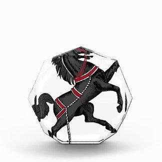 Récompenses En Acrylique Cheval noir