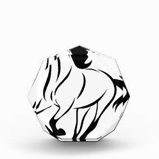 Récompenses En Acrylique Cheval stylisé