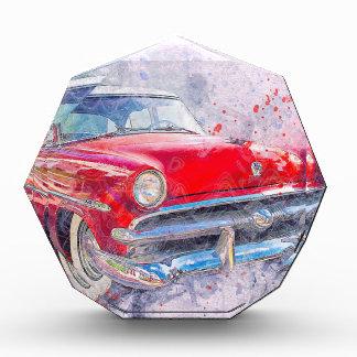 Récompenses En Acrylique Classique vintage de vieille voiture de voiture