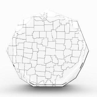 Récompenses En Acrylique Comtés de l'Ohio