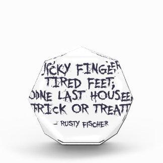 Récompenses En Acrylique Conception de Halloween de des bonbons ou un sort