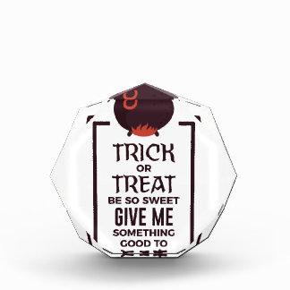 Récompenses En Acrylique Conception douce de Halloween de sucrerie de des