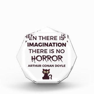 Récompenses En Acrylique Conception effrayante effrayante de Halloween