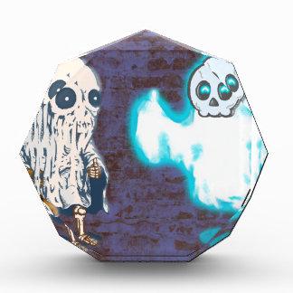 Récompenses En Acrylique Costume de fantôme et de squelette