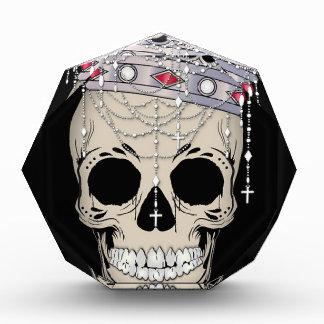 Récompenses En Acrylique Couronne d'horreur de Halloween de cadre d'os de