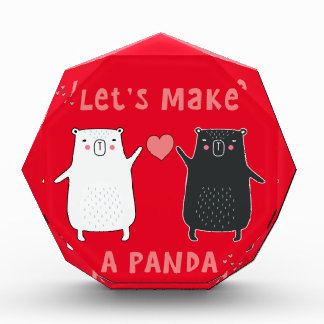 Récompenses En Acrylique faisons un panda
