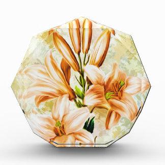 Récompenses En Acrylique Floral, art, conception, beau, nouvelle, mode,