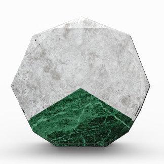 Récompenses En Acrylique Granit concret #412 de vert de flèche