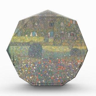 Récompenses En Acrylique Gustav Klimt - maison de campagne par l'art