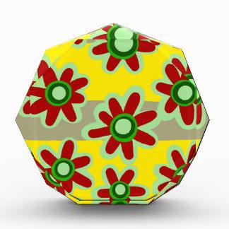 Récompenses En Acrylique motif floral