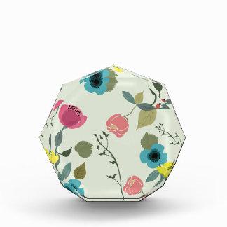 Récompenses En Acrylique Motifs floraux dénommés asiatiques