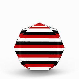 Récompenses En Acrylique Rayures de drapeau du Trinidad-et-Tobago Yémen