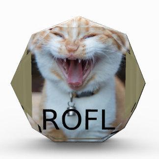 Récompenses En Acrylique ROFL riant le chat de Kitty