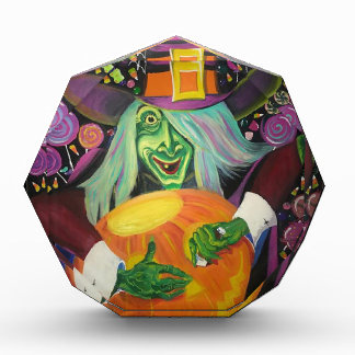 Récompenses En Acrylique Sorcière de Halloween
