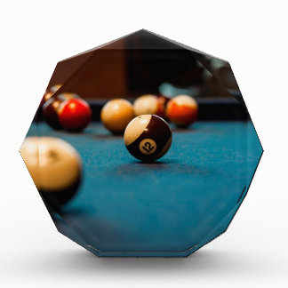 Récompenses En Acrylique Tableau de boule de piscine