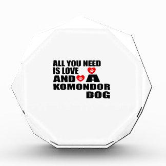 Récompenses En Acrylique Tous vous avez besoin des conceptions de chiens de