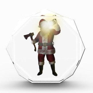 Récompenses En Acrylique Tueur de Père Noël