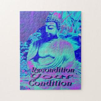 Reconditionnez le puzzle de Bouddha