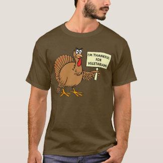 Reconnaissant pour des végétariens t-shirt