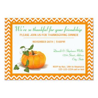 Reconnaissant pour votre amitié - invitation du