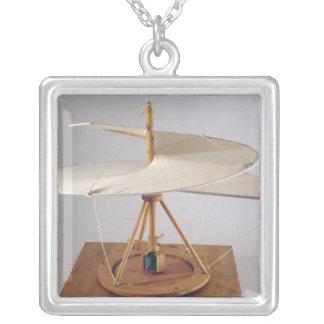 Reconstruction modèle de la conception de da Vinci Pendentif Carré