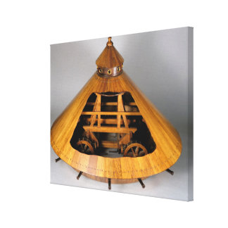 Reconstruction modèle de la conception de da Vinci Toiles