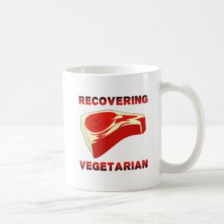 Récupération de la tasse drôle végétarienne