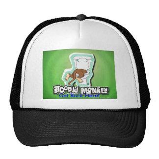 Récupérez ici le singe ! casquettes de camionneur