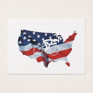 Recyclage SUPÉRIEUR aux Etats-Unis Cartes De Visite
