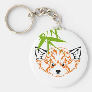 Red panda 1 porte-clé rond