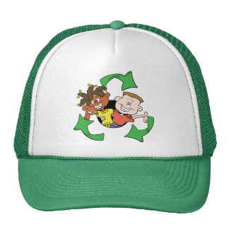 Réduisez la réutilisation réutilisent des enfants casquettes
