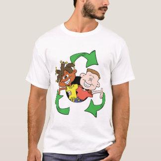 Réduisez la réutilisation réutilisent des enfants t-shirt