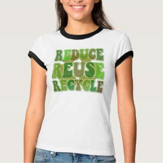 Réduisez la réutilisation réutilisent la chemise t-shirt