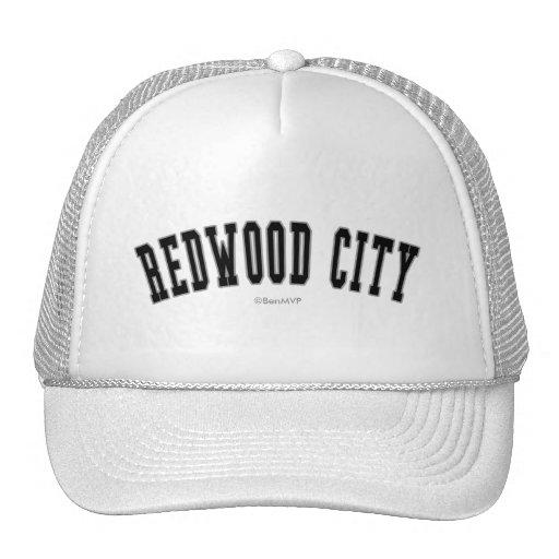 Redwood City Casquettes De Camionneur
