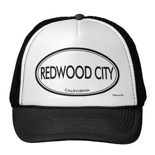 Redwood City, la Californie Casquettes De Camionneur