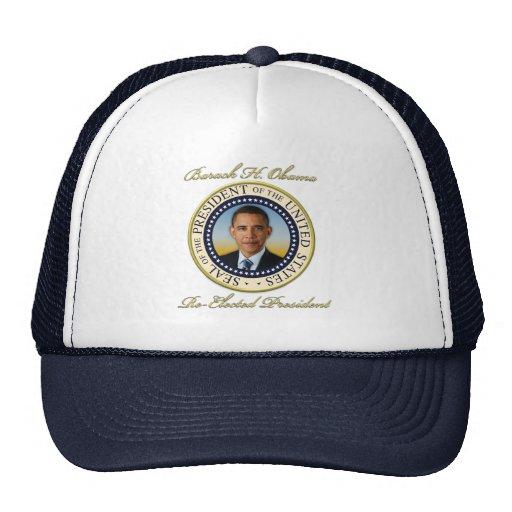 Réélection commémorative du Président Barack Obama Casquette