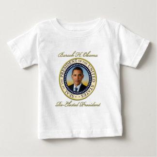 Réélection commémorative du Président Barack Obama T-shirt Pour Bébé