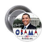 Réélisez la vitesse du Président Obama Election 20 Badges