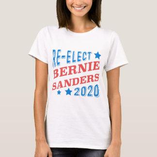Réélisez les ponceuses de Bernie 2020 polices T-shirt