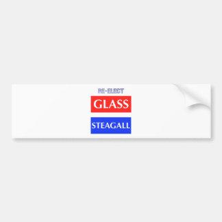 RÉÉLISEZ Steagall en verre Autocollant Pour Voiture