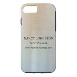 Réflexion argentée minimaliste moderne coque iPhone 7