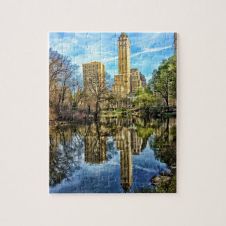Réflexion de Central Park d'horizon de New York Puzzle