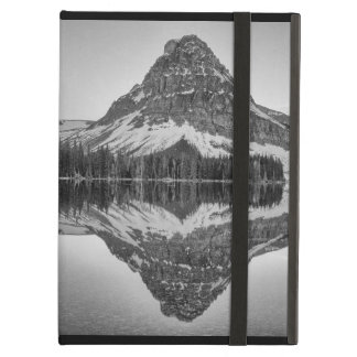 Réflexion de montagne de Sinopah, parc national de