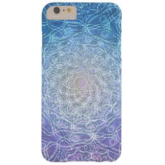 Réflexion violette bleue de mandala coque barely there iPhone 6 plus