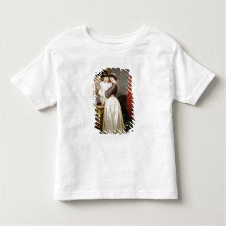 Réflexions de l'amour maternel t-shirt pour les tous petits
