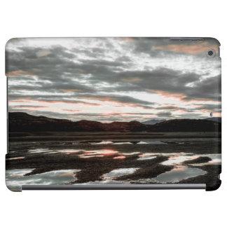 Réflexions de lever de soleil au gris de Lago. Del