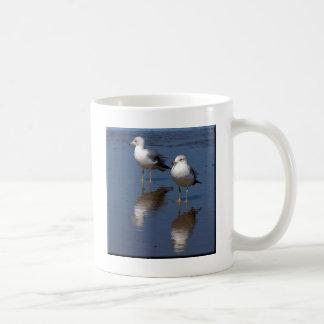 Réflexions de mouette mug