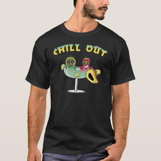 Refroidissez la margarita t-shirt